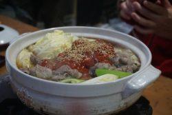 アライグマ鍋の写真