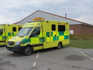 イギリスの救急車の写真